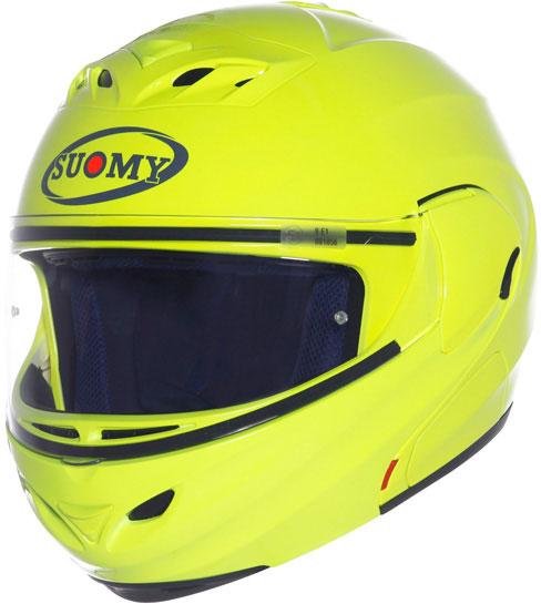 SUOMY D20 Plain Helmet - Col. yellow fluo