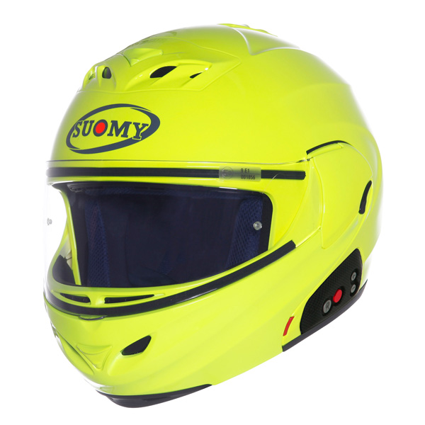 Suomy D20 - SCS Plain openface helmet yellow