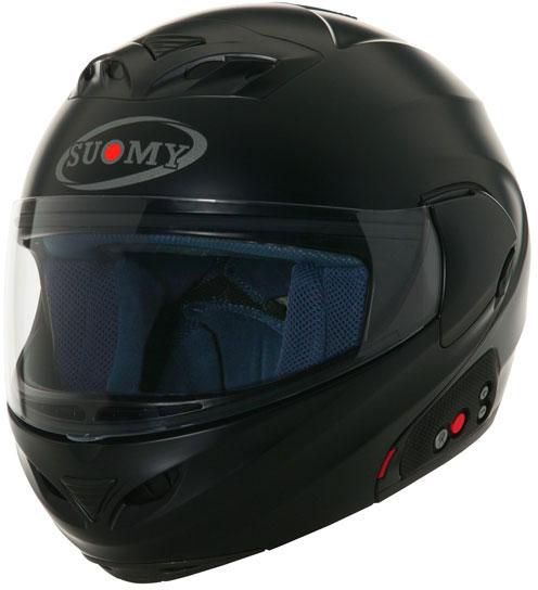 SUOMY D20 + SCS Plain open-face helmet  black matt