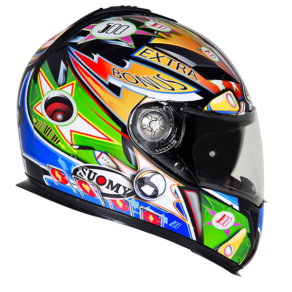 Casco moto integrale Suomy Halo Pinball