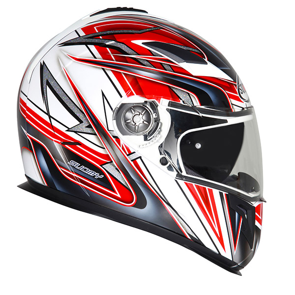 Suomy Halo Zenith fullface helmet white