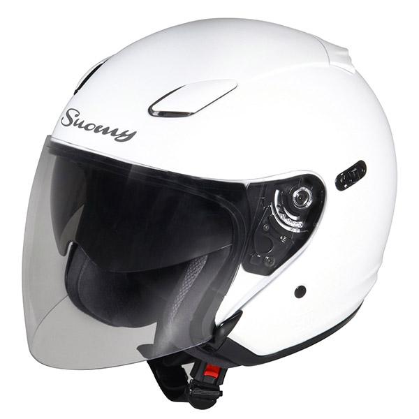 Suomy Inc-State jet helmet white