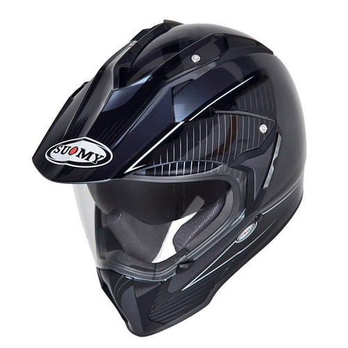 Suomy MX Tourer Special black-anthracite enduro helmet