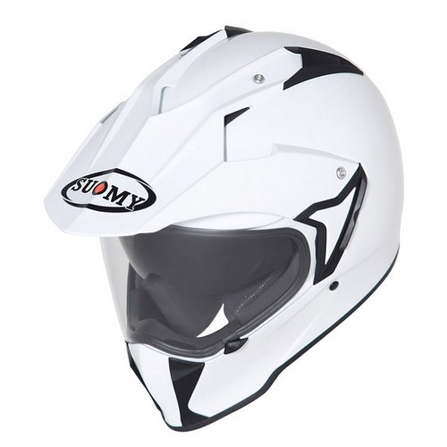 Suomy MX Tourer Mono white enduro helmet