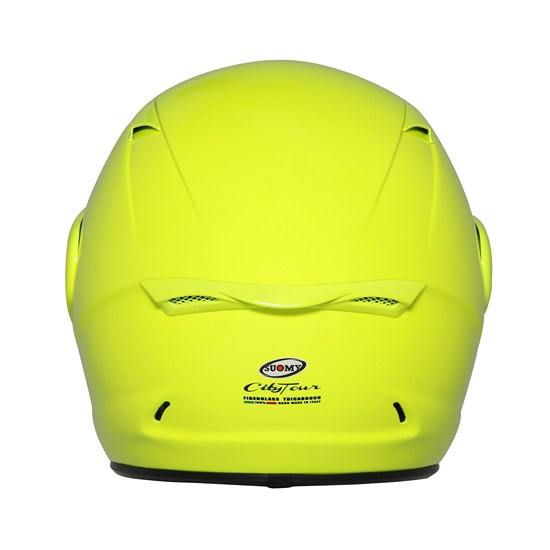 Casco moto Suomy City Tour giallo fluo