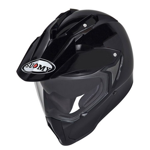 Suomy MX Tourer Mono black enduro helmet