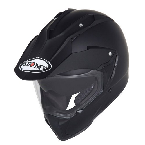 Suomy MX Tourer Mono matt black enduro helmet
