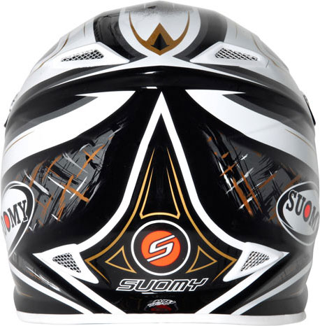 Casco moto cross Suomy MR Jump Black Magic