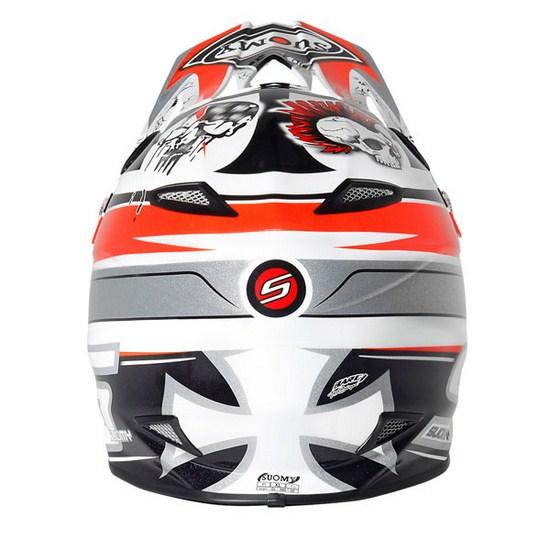 Suomy MR Jump Lazyboy Red enduro helmet