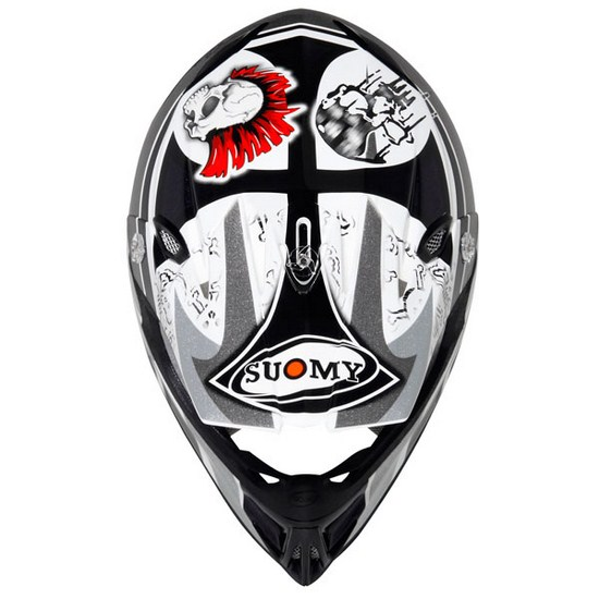 Suomy MR Jump Lazyboy Grey enduro helmet