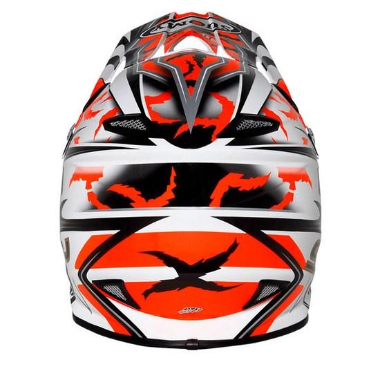 Suomy MR Jump Catwalk red enduro helmet