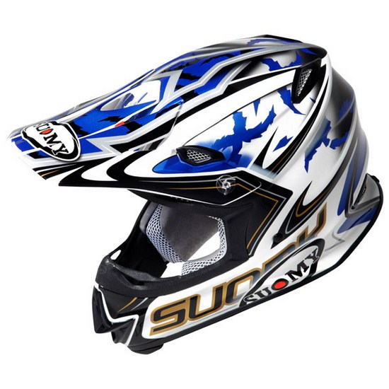 Suomy MR Jump Catwalk blue enduro helmet