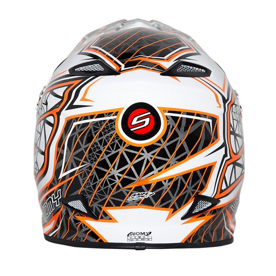 Suomy MR Jump S-Line Orange enduro helmet