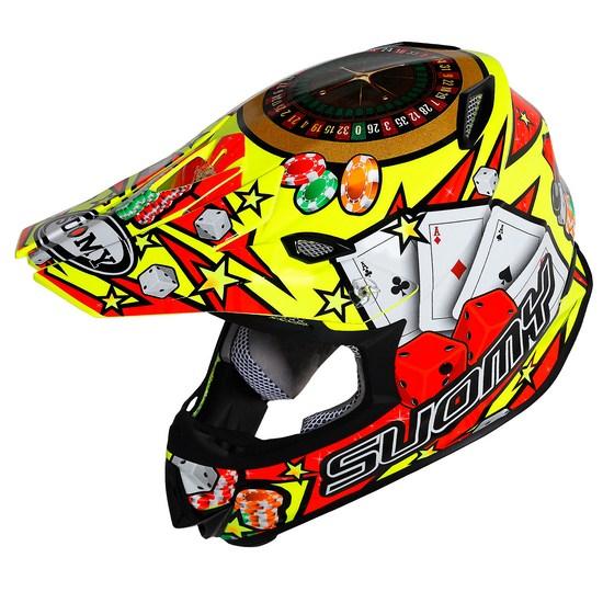 SuomyMR Jump Jackpot Yellow enduro helmet
