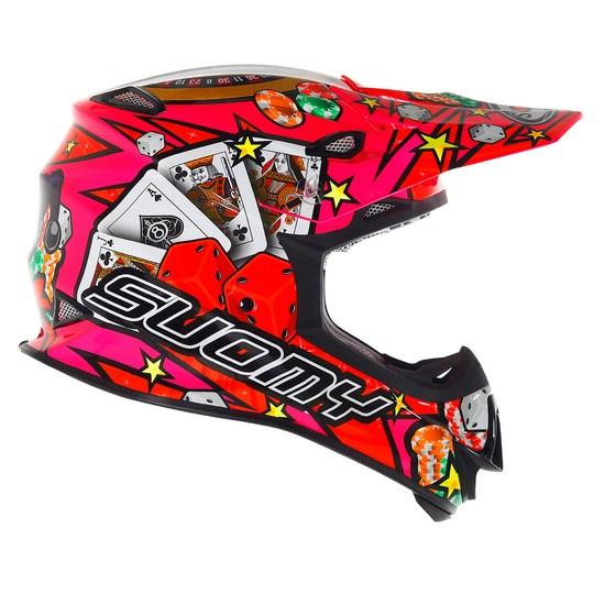 SuomyMR Jump Jackpot Fuxia enduro helmet