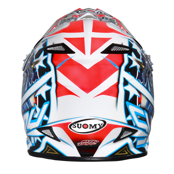 Casco moto cross Suomy MR Jump Eagle bianco