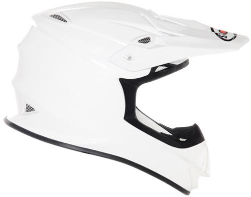 Suomy MR Jump Plain cross helmet white