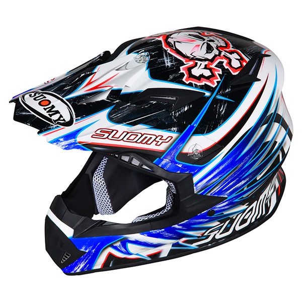 Suomy Rumble Eclipse offroad helmet blue