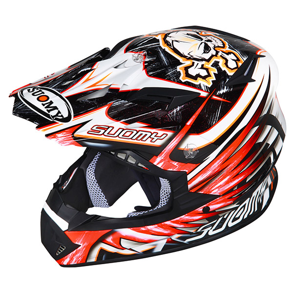 Suomy Rumble Eclipse offroad helmet red