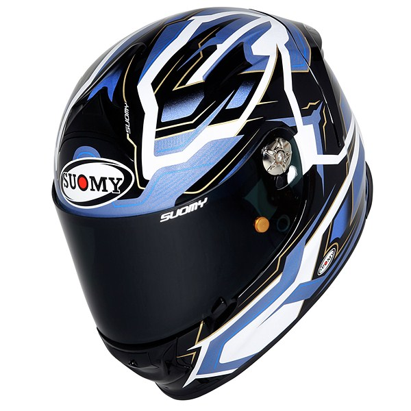 Casco moto Suomy SR Sport Diamond blu