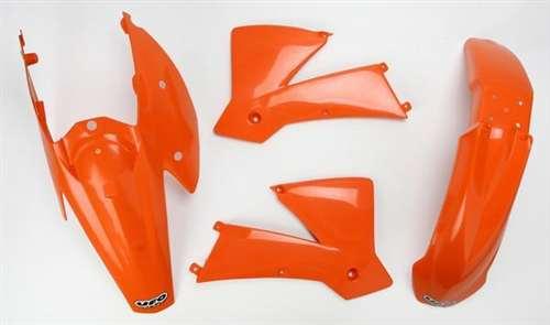 Kit plastiche Ufo plast per KTM Sx -Sxf bianche