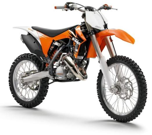 Ufo replacement plastics KTM EXC 2011 White