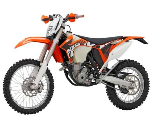 Kit plastiche moto Ufo KTM EXC 2012 ArancioKTM98-12