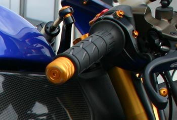 Handlebar Alu LighTech Kawasaki ZX-10R, Black