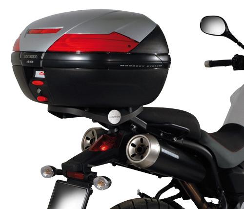Rear attachment KZ356 specific trunk or Monokey ® MONOL