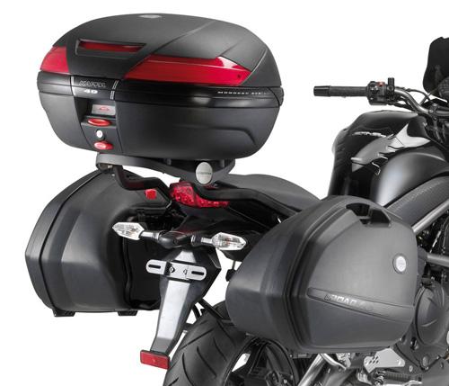 Rear attachment KZ449 specific trunk or Monokey ® MONOL