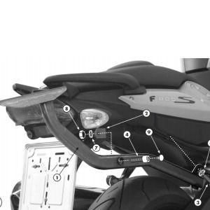 Staffe Monorack specifiche KZ687 per BMW F800S