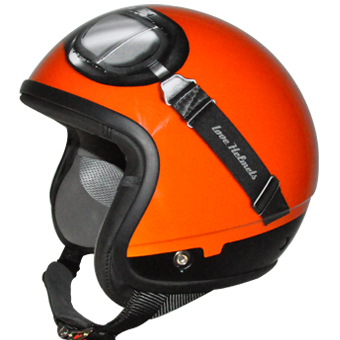 Love Helmet Cover shell Max orange