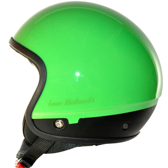 Love Helmet Cover shell Unie green