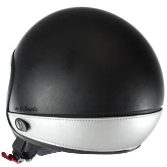 Neck Cover per casco Love Helmet imitazione pelle silver