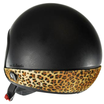 Neck Cover per casco Love Helmet Leopardo