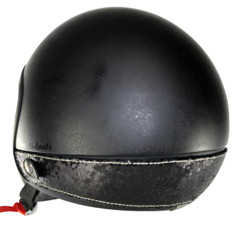 Neck Cover per casco Love Helmet paillettes nero