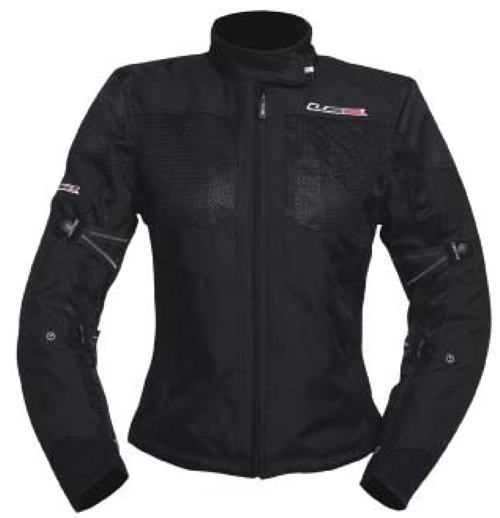 LS2 Apparel 4 SEASONS Ladies jacket Black