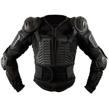 CGM harness moto-cross with straps Black