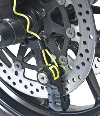 OJ Padlock for disk brake 10mm
