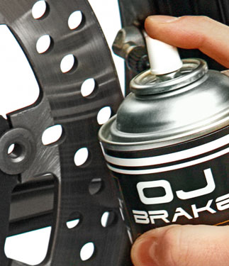 OJ Spray cleaner for disc brake