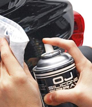 OJ Silicone Spray polish