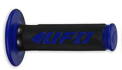 Coppia manopole UFO CHALLENGER Cross-Enduro Blu