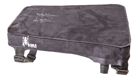 Inflatable seat cushion from Amphibious Softseat S Black