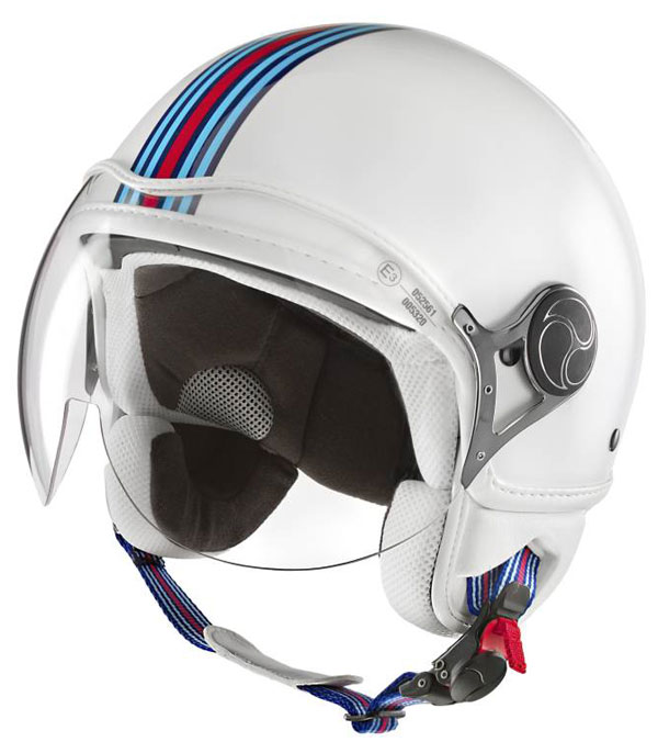 Martini Racing jet helmet White