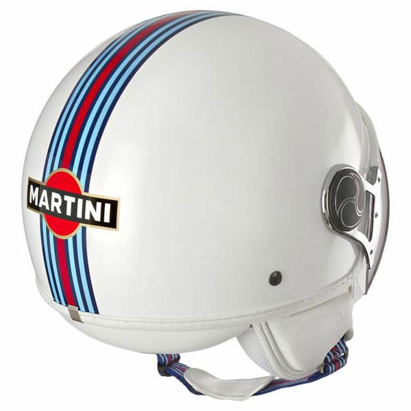 Casco jet Martini Racing Bianco
