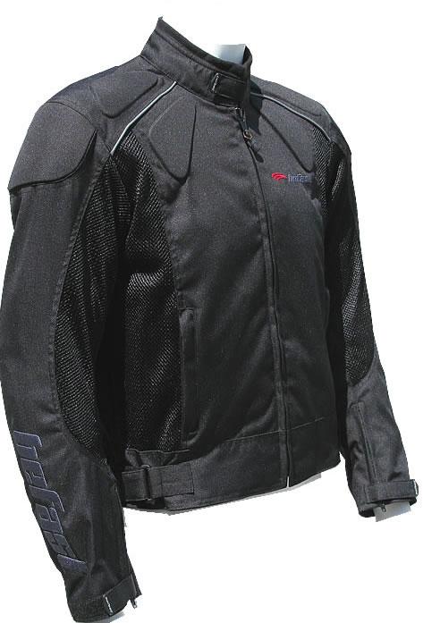 Befast Zero summer motorcycle jacket black