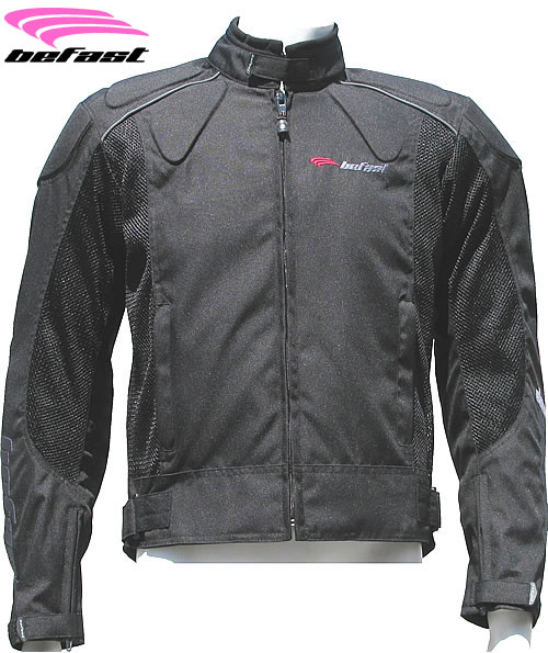 Befast Zero lady summer motorcycle jacket black