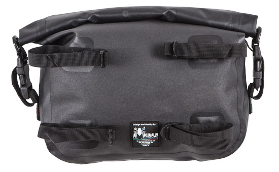 Waterproof bag Amphibious Sidebag Black
