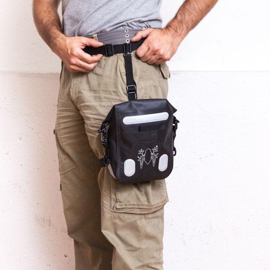 Bag leg Amphibious Legbag Black