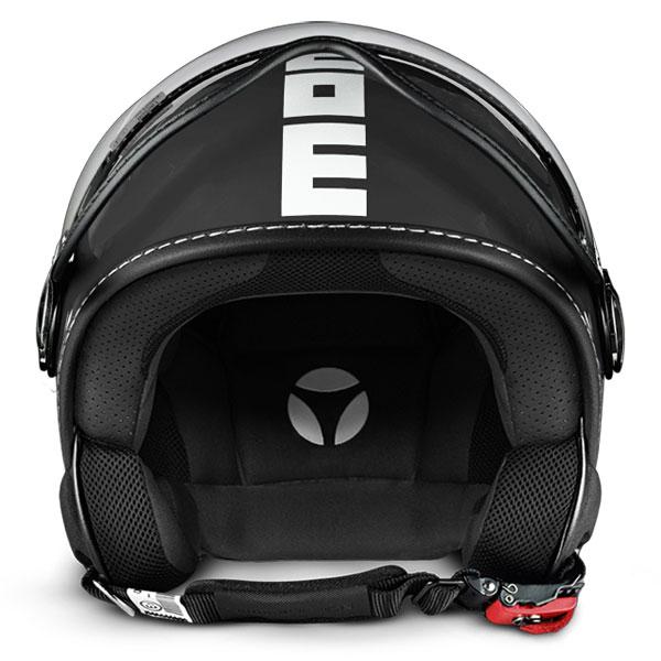 Momo Design Fighter Classic Jet Helmet Matt Anthracite White